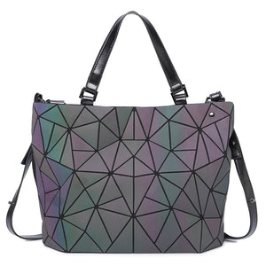 Geometric Luminous Handbags