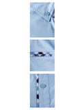 TAM WARE Men's Premium Casual Inner Contrast Dress Shirt