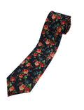 TAM WARE Men's Fashion Floral Print Necktie