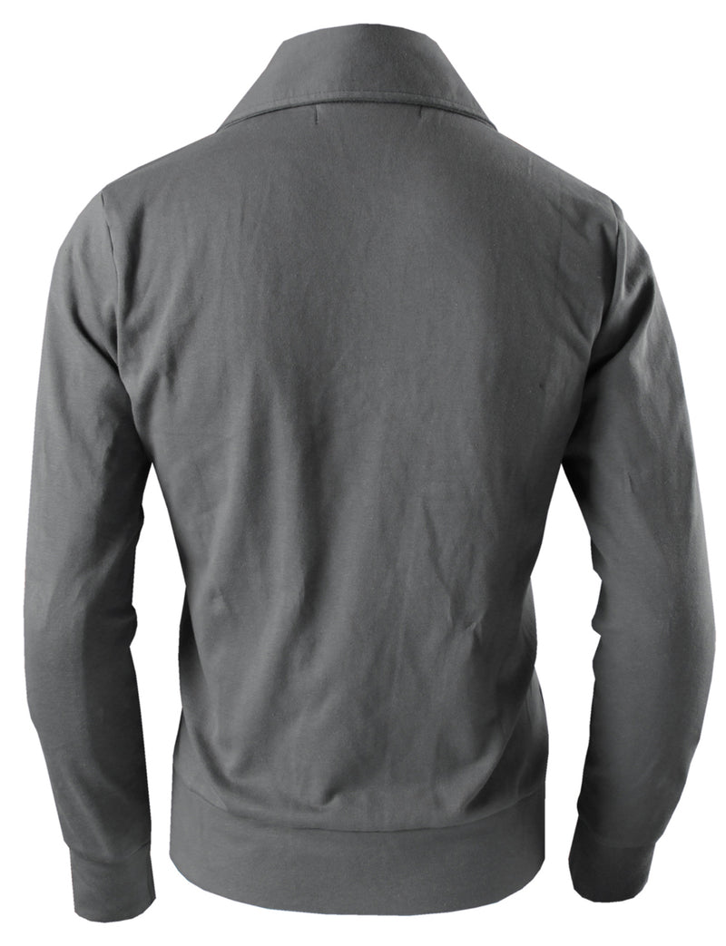 TAM WARE Men's Premium Zip-up Fleece Jacket
