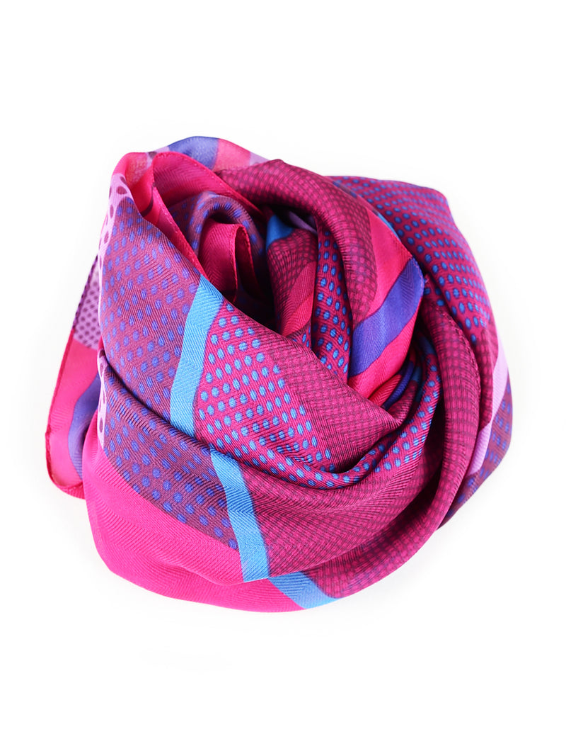 TAM WARE Women's Fashionable Printed Soft Scarf