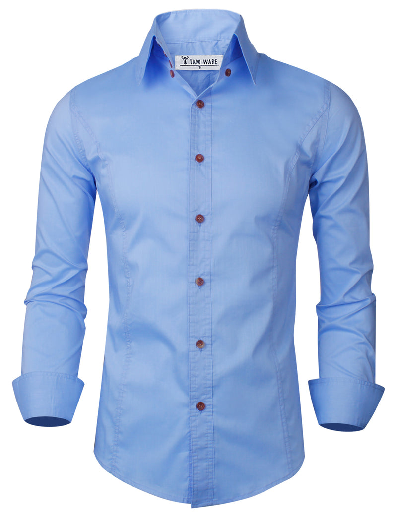 TAM WARE Men's Casual Luxury Dress Shirts
