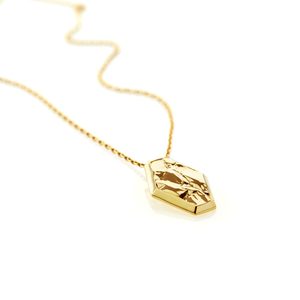 Fragment Necklace - gold plate - Collectors Items Jewelry