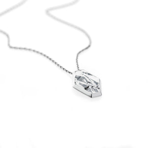 Fragment Necklace - sterling silver - Collectors Items Jewelry
