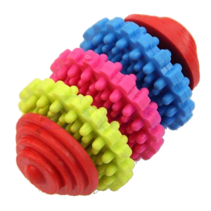 Durable Rubber Pet Dog Teether