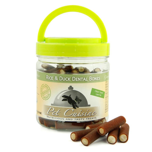 Rice & Duck Dental Chews Bucket