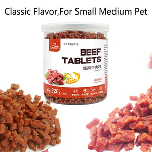 100% Natural Beef Chew Tablets Dog Food / Treats