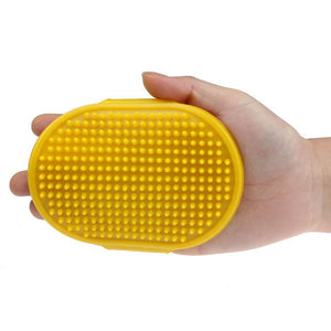 2016 New Dog  Pet Cleaning Oval Bath Brush Massage Brush Comb With Adjustable Strap products for dogs mascotas perros