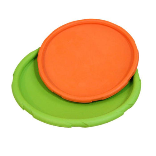 Ultra Rugged Rubber Frisbee Toy