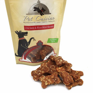 Chicken and Rice Flavor Mini Bone Treats