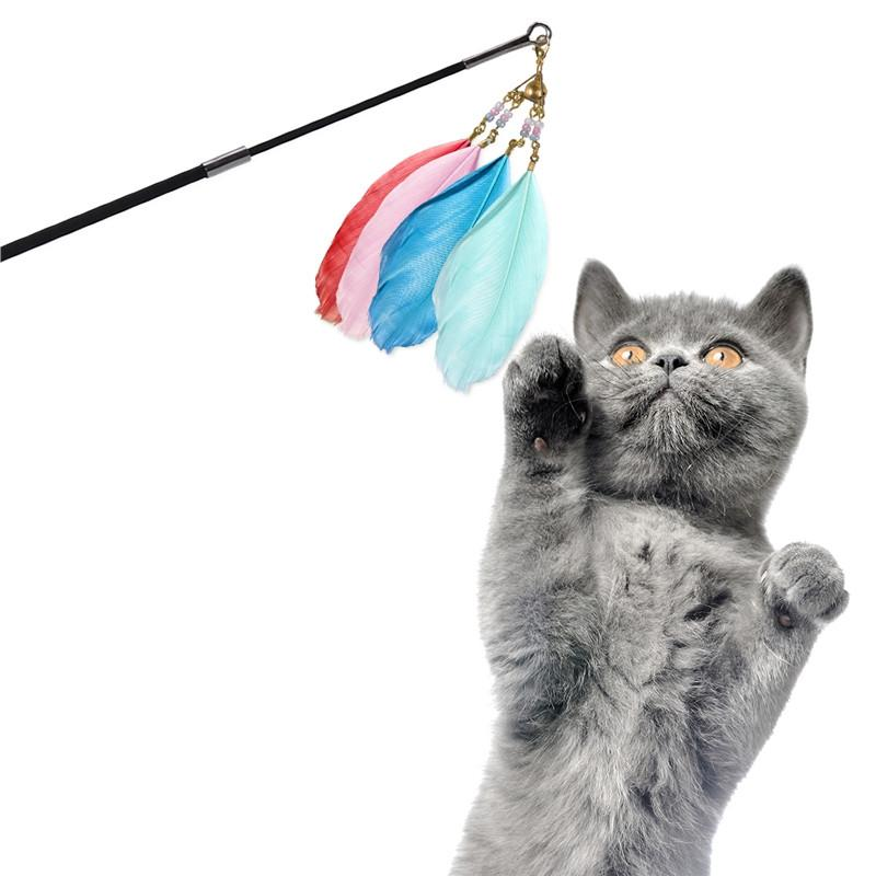 Feather Wand Cat Toy