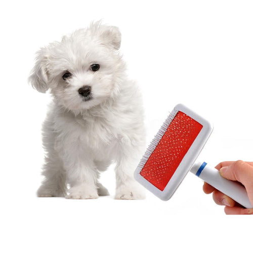 Pet Deshedding Brush Puppy Dog Cat Needle Comb Hair Shedding Grooming Quick Cleaning Pets Fur Gilling Brush Slicker Tool Hot