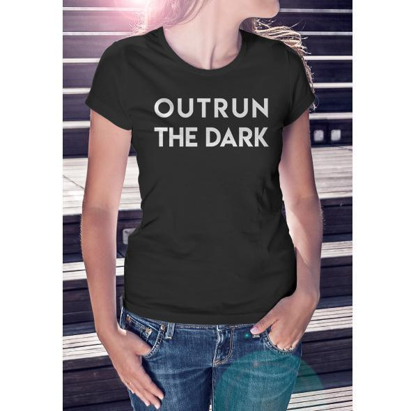 Outrun Original Black Tee