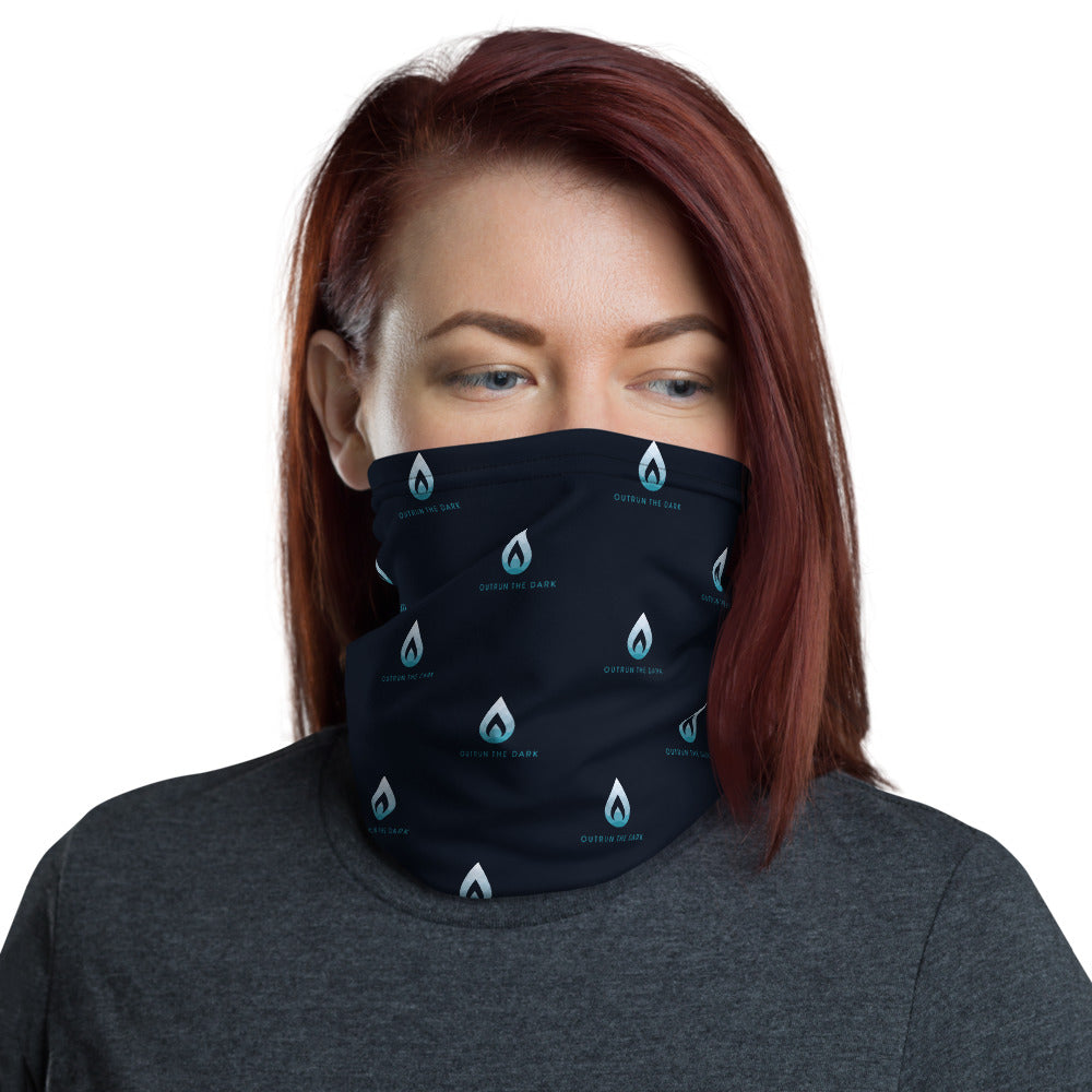 Outrun Dark Navy Ice Neck Gaiter