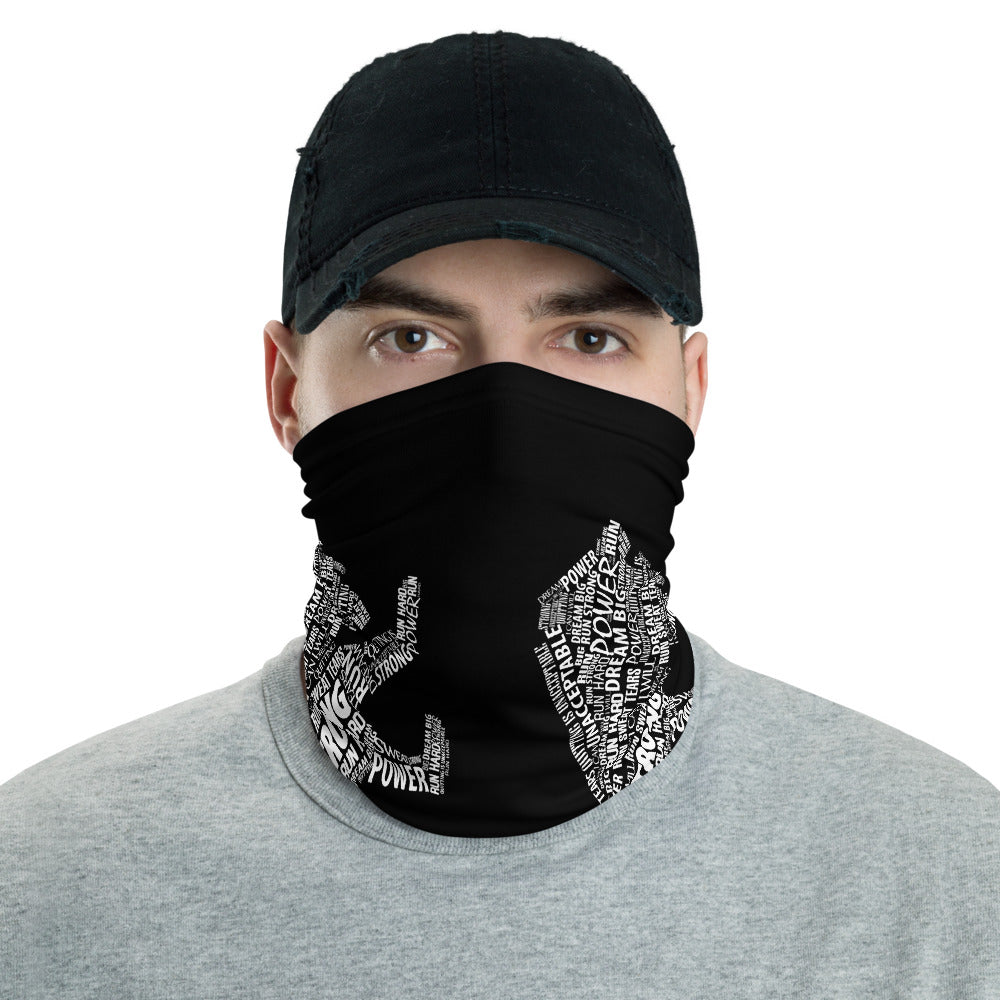 Run Strong Lion Neck Gaiter