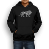 Run Strong Lion Hoodie