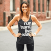 Run Hard Racerback Tank