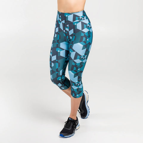 Outrun Shapes High Capris