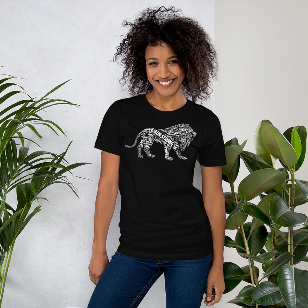 Run Strong Lion Women's Tee
