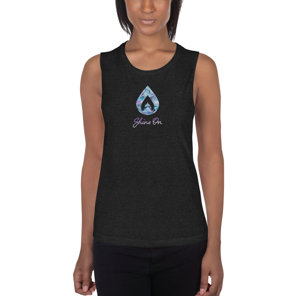 Shine On Ladies' Muscle Tank