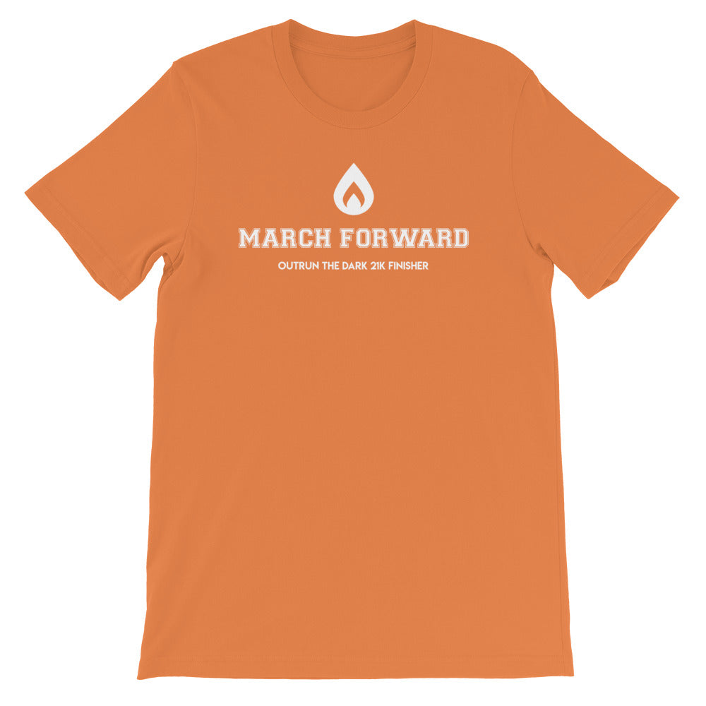 March Forward 21K Finisher Shirt