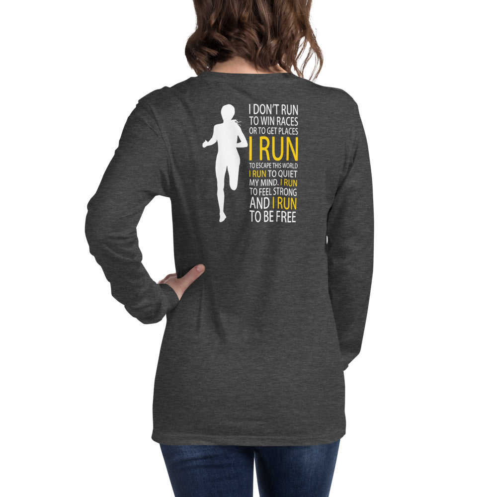Run Free Womens Loongsleeve