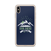 Run More Navy iPhone Case