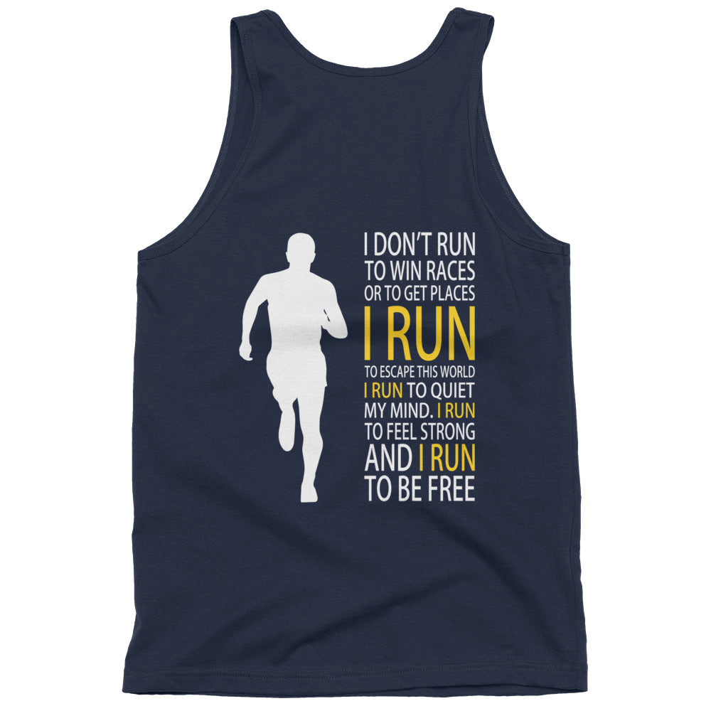 Run Free Mens Tanktop