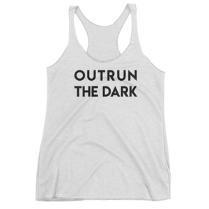 Rebel White Racerback Tank