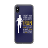 Run Free Navy iPhone Case