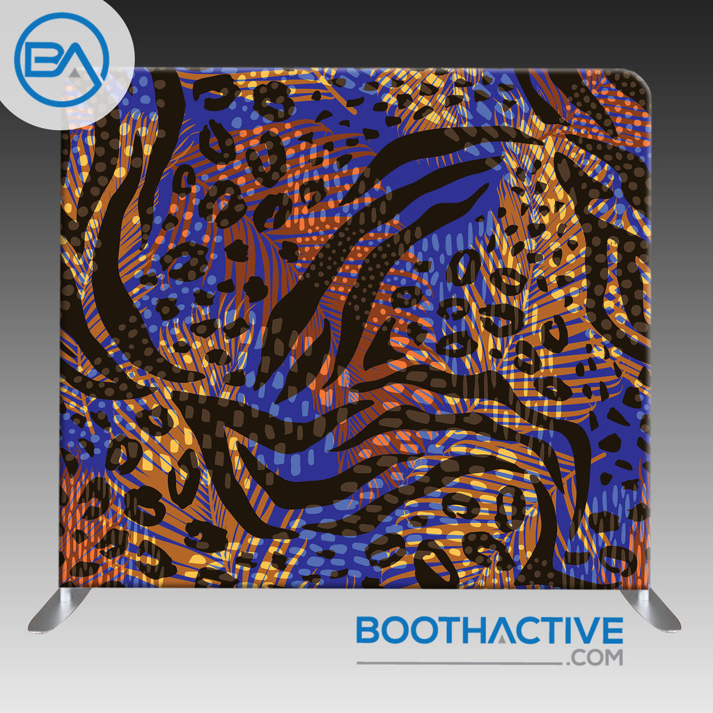8' x 8' Backdrop - Animal Instincts