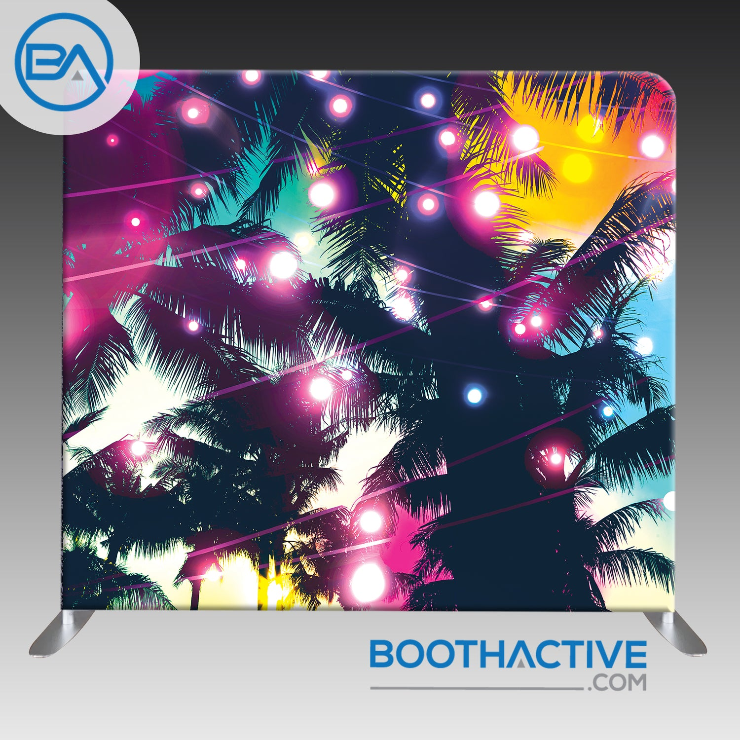 8' x 8' Backdrop - Beach Party