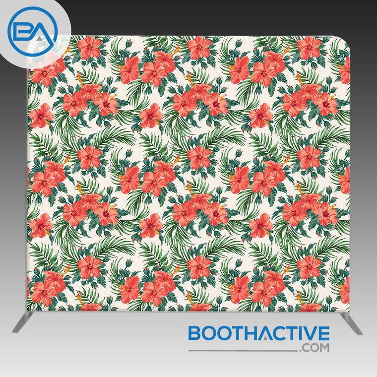 8' x 8' Backdrop - Exotic Floral