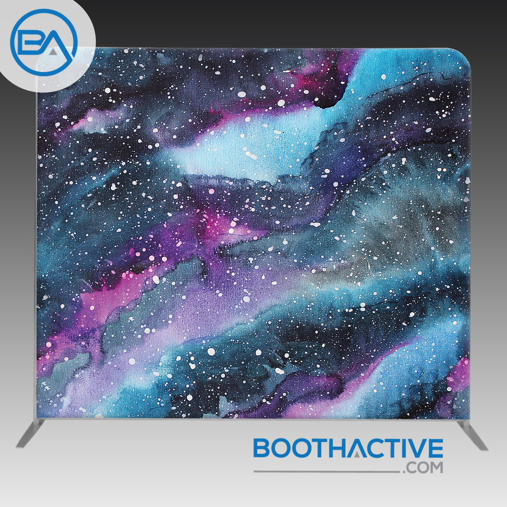 8' x 8' Backdrop - Painted Galaxy