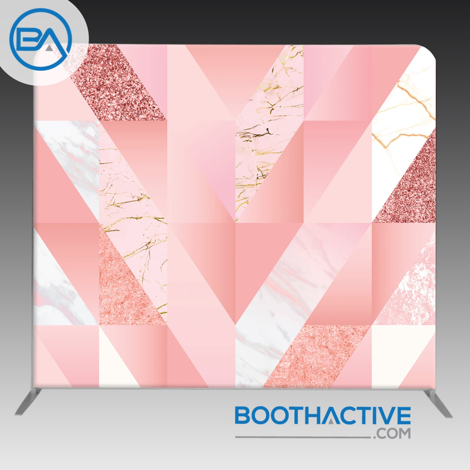 8' x 8' Backdrop - Pink Mix