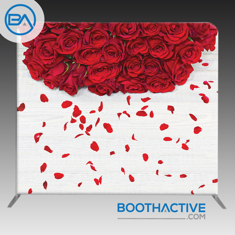8' x 8' Backdrop - Romance