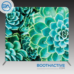 8' x 8' Backdrop - Succulents