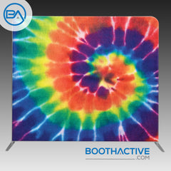 8' x 8' Backdrop - Tie Dye - Rainbow
