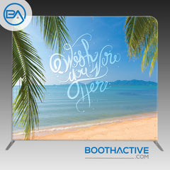 8' x 8' Backdrop - Vacation