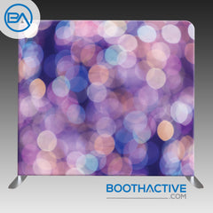 8' x 8' Backdrop - Bokeh - Purple
