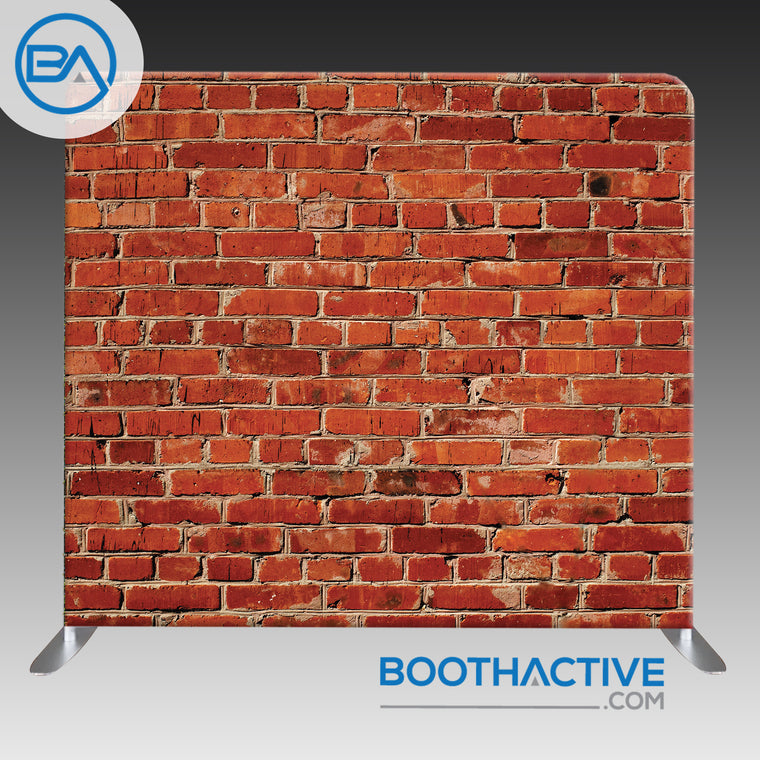 8' x 8' Backdrop - Brick Wall