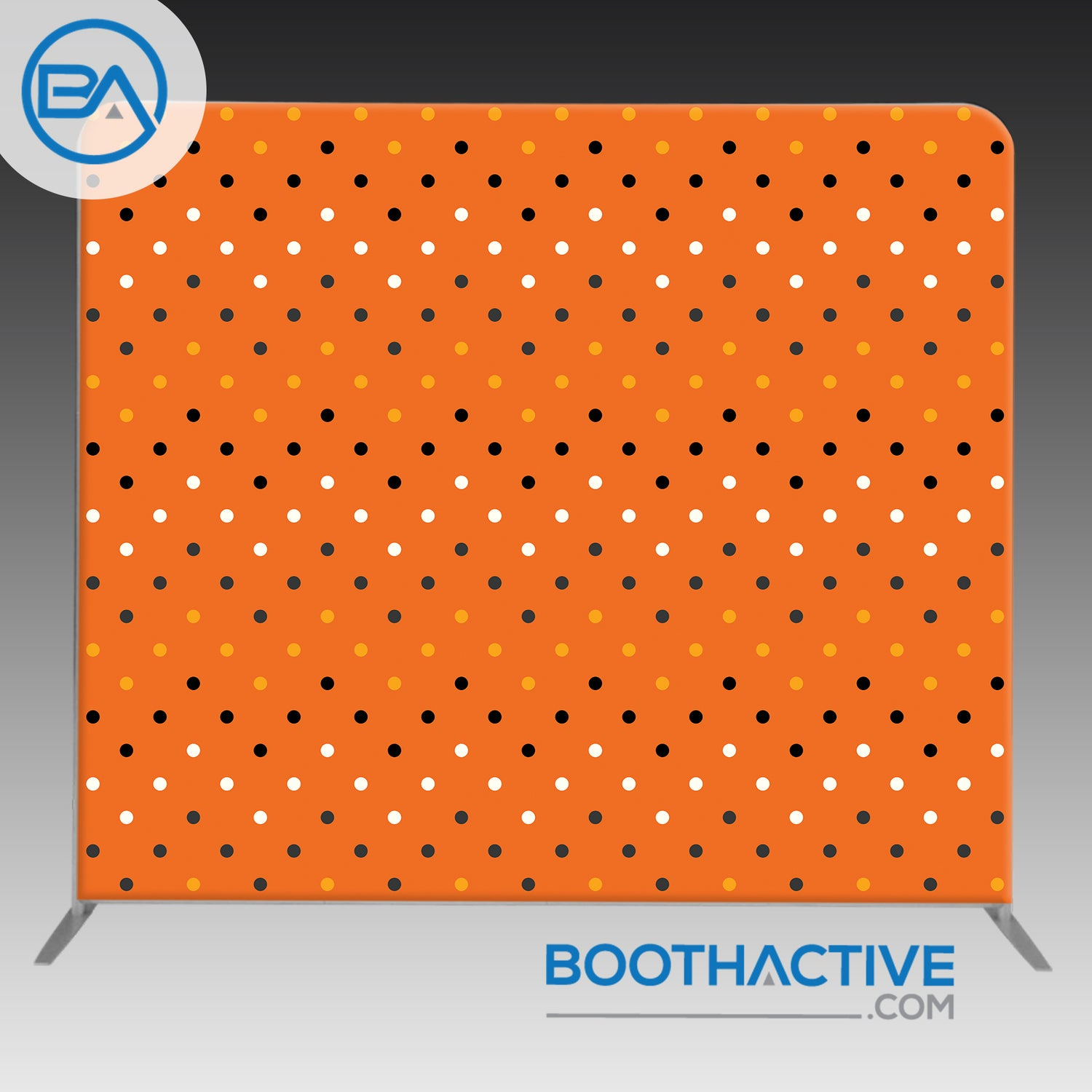 8' x 8' Backdrop - Halloween 2 - BoothActive