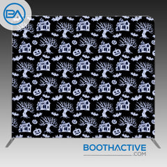 8' x 8' Backdrop - Halloween 3 - BoothActive