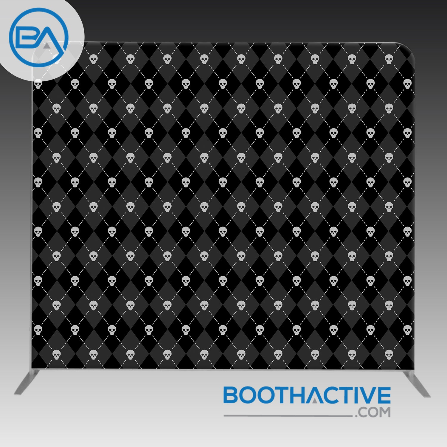 8' x 8' Backdrop - Halloween 4 - BoothActive