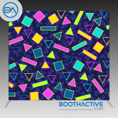 8' x 8' Backdrop - Retro - Saved by the bell - BoothActive