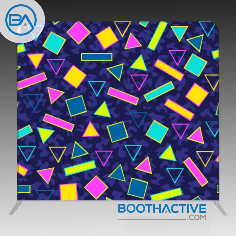 8' x 8' Backdrop - Retro - Saved by the bell