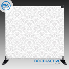8' x 8' Backdrop - Vintage Art Deco - BoothActive