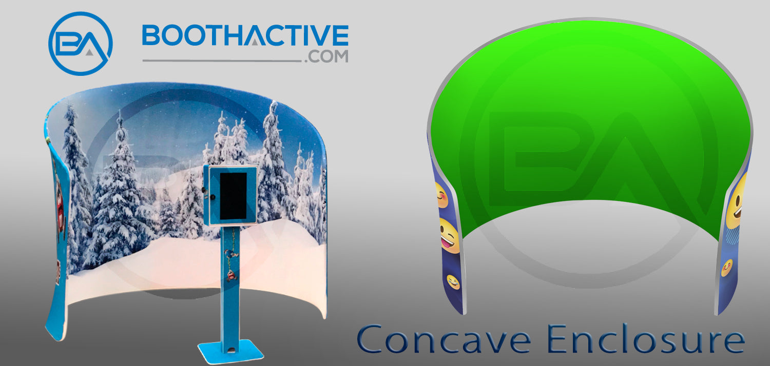 Fabric Booth Enclosure - The Concave