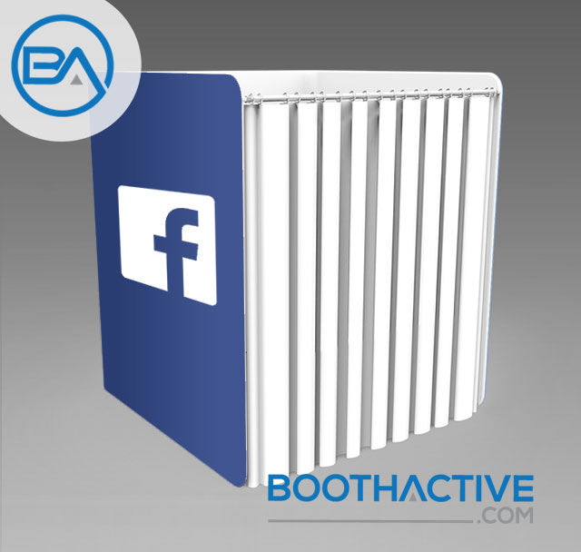 Fabric Booth Enclosure - The Blox