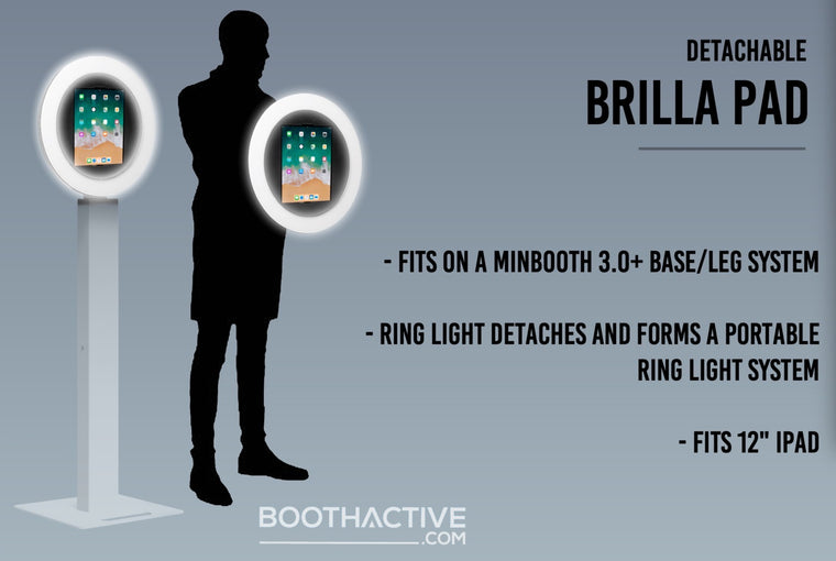3.0 Brilla Pad - PREORDER - Ring light roaming photo booth